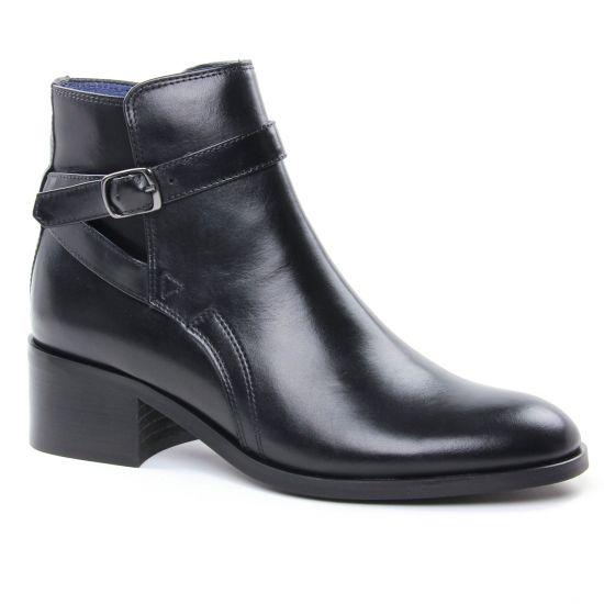 Bottines Et Boots Pintodiblu 74201 Noir, vue principale de la chaussure femme