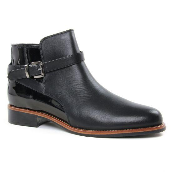Bottines Et Boots Scarlatine 77579 P Noir Noir, vue principale de la chaussure femme