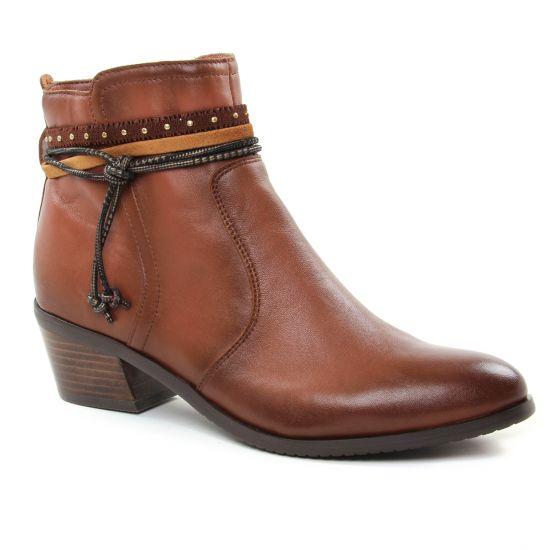 Bottines Et Boots Fugitive Sobey Compo Nappa Gold, vue principale de la chaussure femme