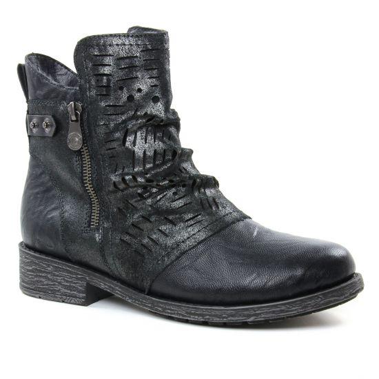 Bottines Et Boots Remonte D8073-02 Schwarz, vue principale de la chaussure femme