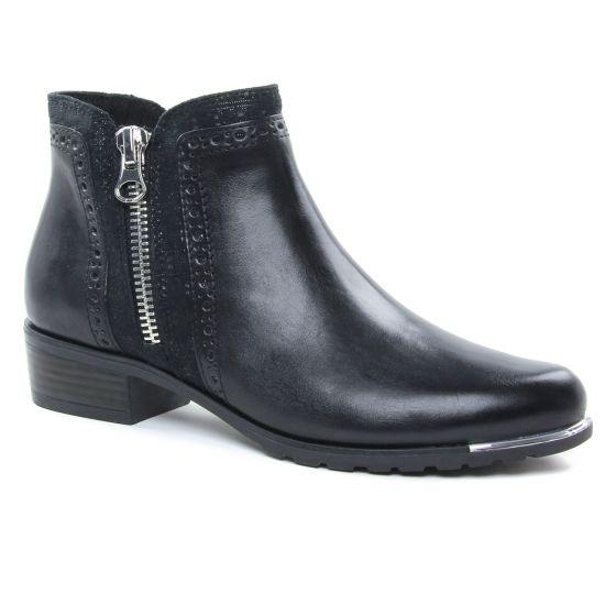Bottines Et Boots Caprice 25403 Black, vue principale de la chaussure femme