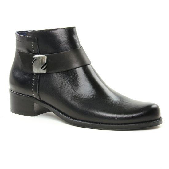 Bottines Et Boots Dorking Dulce D7604 Noir, vue principale de la chaussure femme