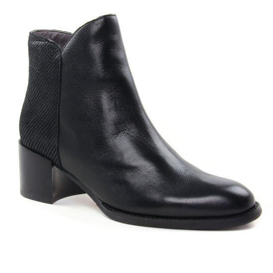 Bottines Et Boots Mamzelle Hockey Noir, vue principale de la chaussure femme