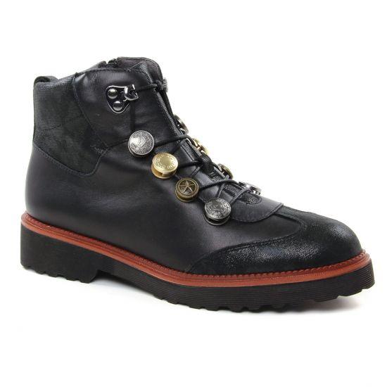 Bottines Et Boots Mamzelle Recina Noir, vue principale de la chaussure femme