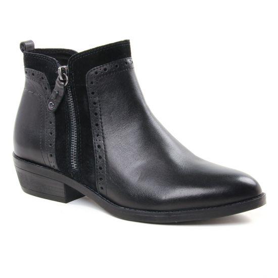 Bottines Et Boots Marco Tozzi 25393 Black, vue principale de la chaussure femme