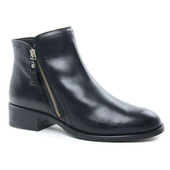 Bottines Et Boots Maria Jaen 7000 Lustre Negro, vue principale de la chaussure femme