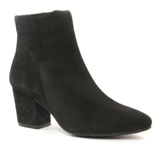 Bottines Et Boots Maria Jaen 7140 Negro Serraje, vue principale de la chaussure femme