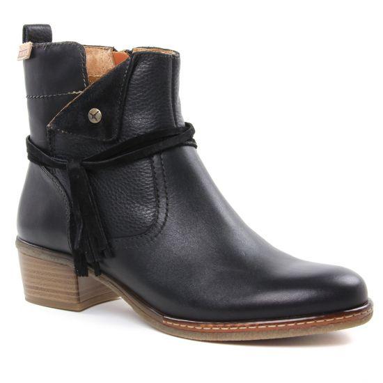 Bottines Et Boots Pikolinos W9H8800 Black, vue principale de la chaussure femme