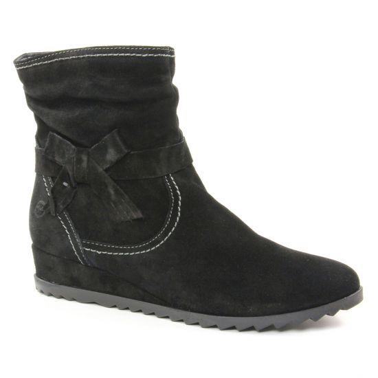 Tamaris 25006 Black | boots noir automne hiver chez TROIS PAR 3