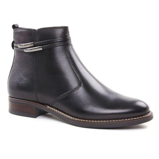 Bottines Et Boots Tamaris 25008 Black, vue principale de la chaussure femme