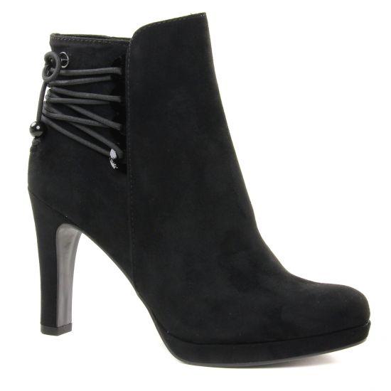 Bottines Et Boots Tamaris 25026 Black, vue principale de la chaussure femme