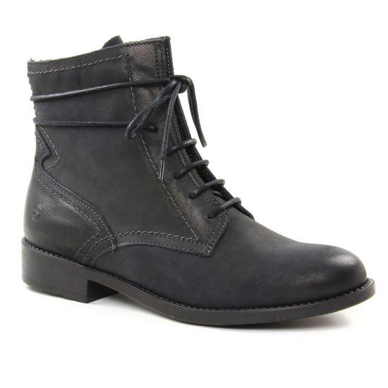Bottines Et Boots Tamaris 25111 Black, vue principale de la chaussure femme