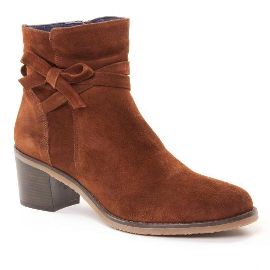 Bottines Et Boots Dorking Ambra D7335 Cuero, vue principale de la chaussure femme