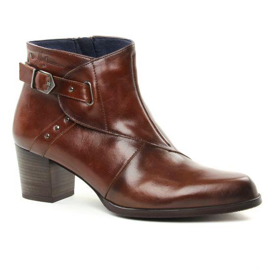 Bottines Et Boots Dorking Zuma D7624 Castagno, vue principale de la chaussure femme
