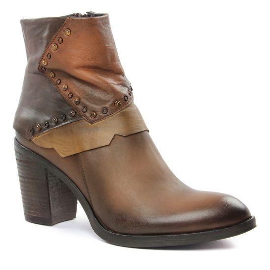 Bottines Et Boots Scarlatine Minho B Multicolore, vue principale de la chaussure femme