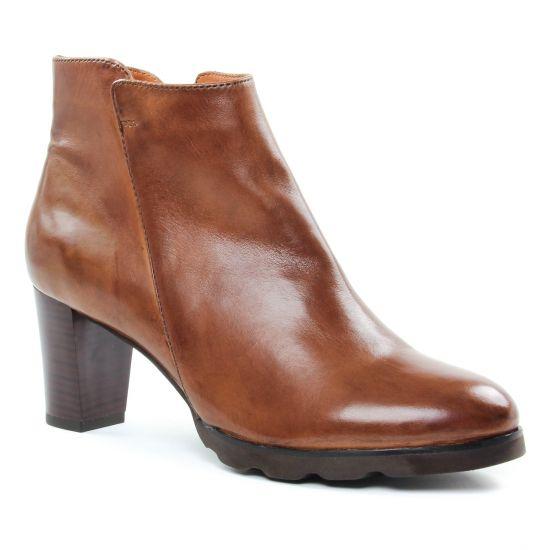 Bottines Et Boots Regarde Le Ciel Patricia01 Cognac, vue principale de la chaussure femme
