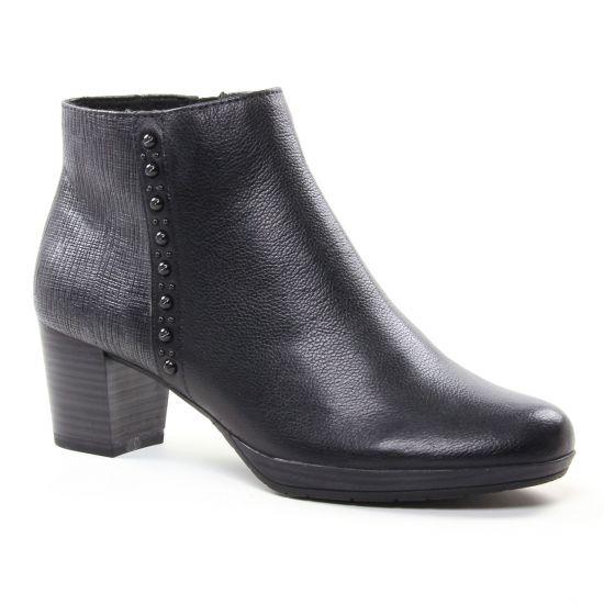 Bottines Et Boots Marco Tozzi 25388 Black, vue principale de la chaussure femme