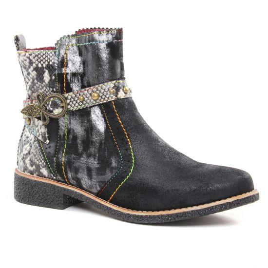 Bottines Et Boots Laura Vita Coralie 23 Noir, vue principale de la chaussure femme