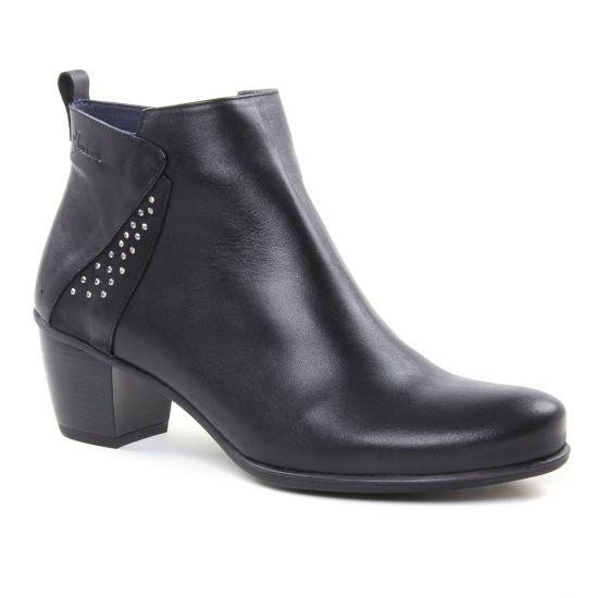 Bottines Et Boots Dorking Brisda D7575 Noir, vue principale de la chaussure femme