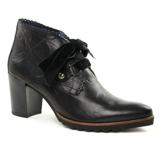 Bottines Et Boots Dorking Thais D7590 Noir, vue principale de la chaussure femme