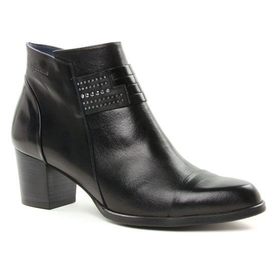 Bottines Et Boots Dorking Zuma D7619 Noir, vue principale de la chaussure femme
