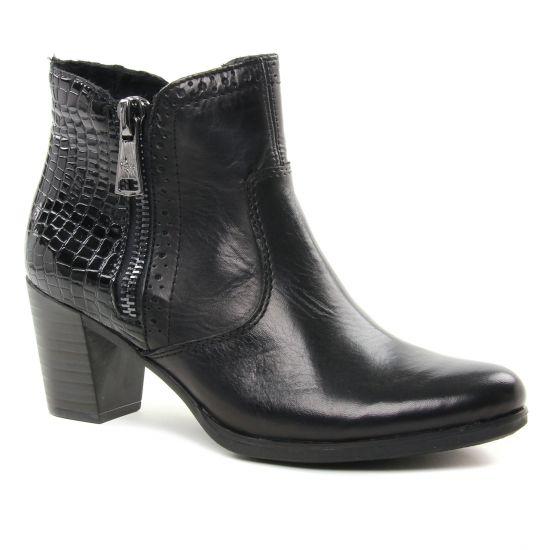 Bottines Et Boots Rieker Y8965-00 Schwarz, vue principale de la chaussure femme