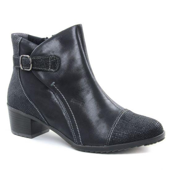 Bottines Et Boots Suave 9919Kc Cinder Black, vue principale de la chaussure femme