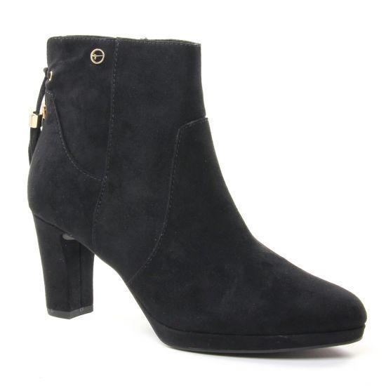 Bottines Et Boots Tamaris 25369 Black, vue principale de la chaussure femme