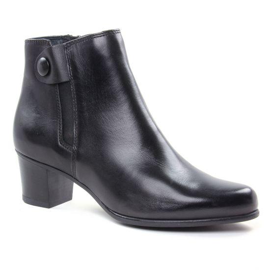 Bottines Et Boots Tamaris 25374 Black, vue principale de la chaussure femme