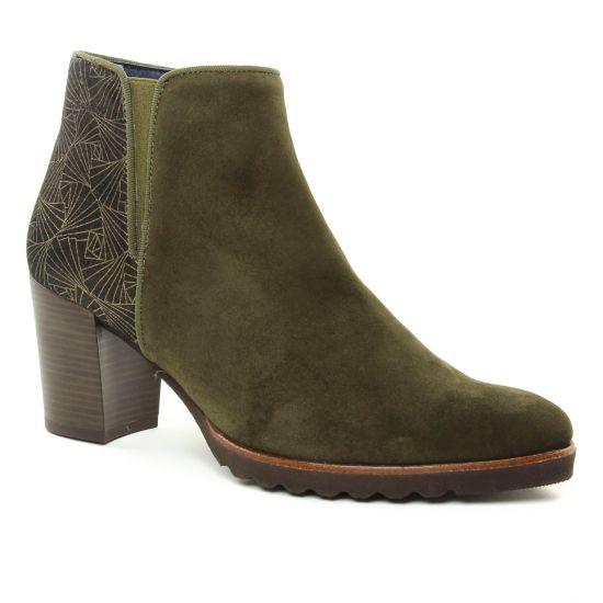 Bottines Et Boots Dorking Thais D7224 Herb, vue principale de la chaussure femme