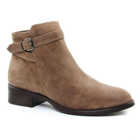 Bottines Et Boots Maria Jaen 7010 Taupe, vue principale de la chaussure femme