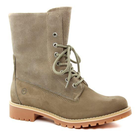 Bottines Et Boots Tamaris 26443 Taupe, vue principale de la chaussure femme