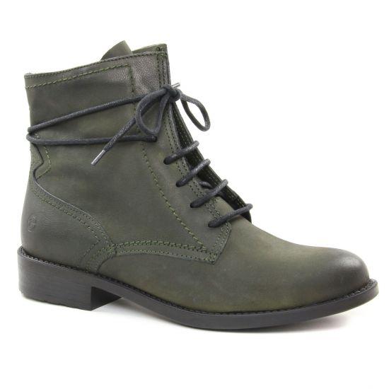 Tamaris 25111 Olive | boots vert automne hiver chez TROIS PAR 3