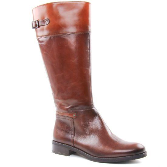 Bottes Dorking D7687 Sisi Tierra Castagno, vue principale de la chaussure femme