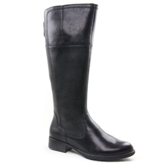 Bottes Tamaris 25508 Black, vue principale de la chaussure femme