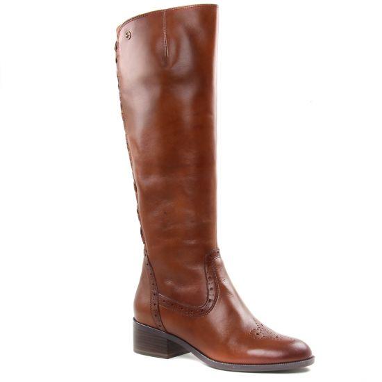 Bottes Tamaris 25541 Cognac, vue principale de la chaussure femme