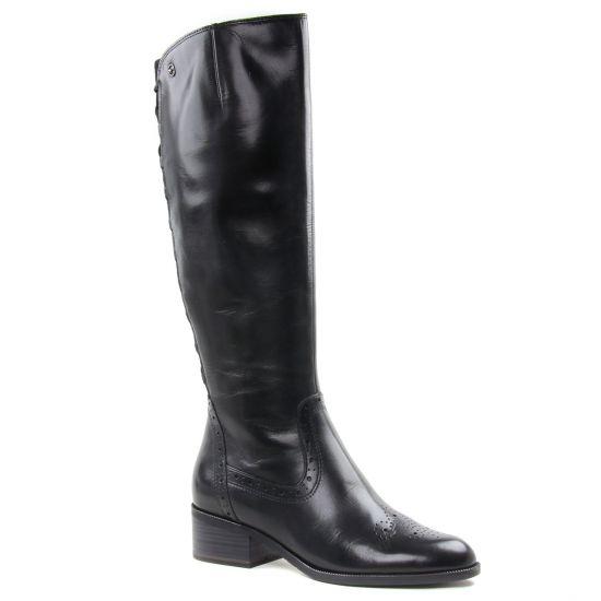 Bottes Tamaris 25541 Black, vue principale de la chaussure femme