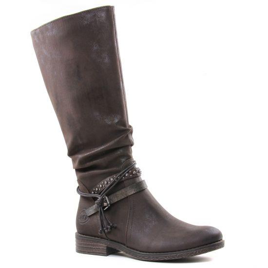 Bottes Marco Tozzi 25612 Mocca, vue principale de la chaussure femme