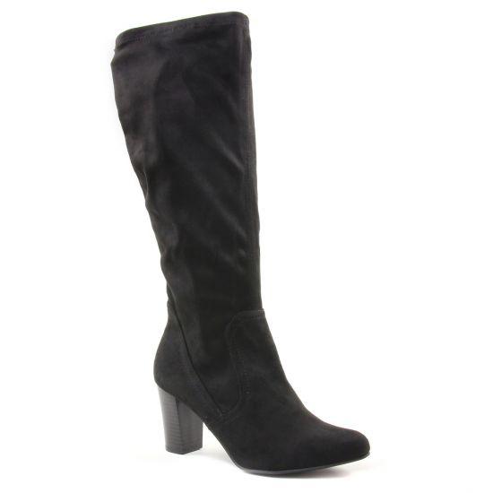 Bottes Caprice 25502 Black, vue principale de la chaussure femme
