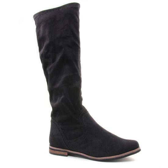 Bottes Caprice 25507 Black, vue principale de la chaussure femme