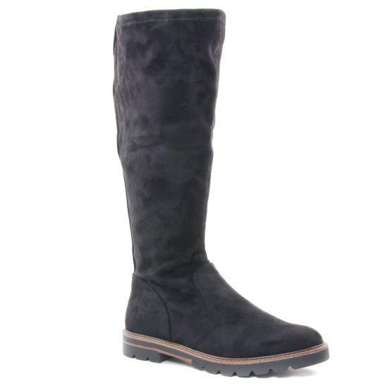 Bottes Marco Tozzi 25547 Black, vue principale de la chaussure femme
