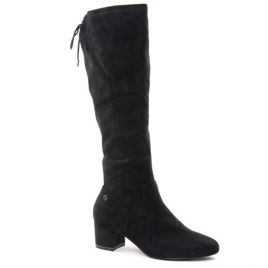 Bottes Tamaris 25505 Black, vue principale de la chaussure femme