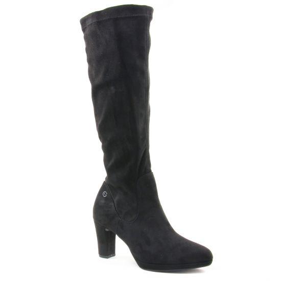 Bottes Tamaris 25522 Black, vue principale de la chaussure femme