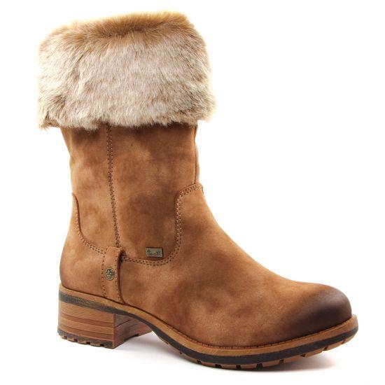 Rieker 96854 24 Reh Step | botte talon marron automne hiver