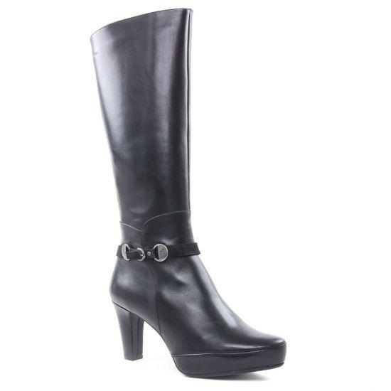 Bottes Dorking D7654 Sunb Blesa Noir, vue principale de la chaussure femme