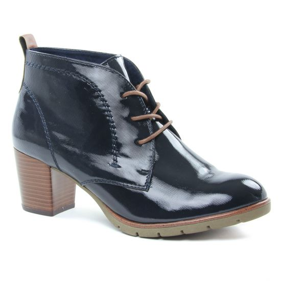 Bottines Et Boots Marco Tozzi 25109 Navy, vue principale de la chaussure femme