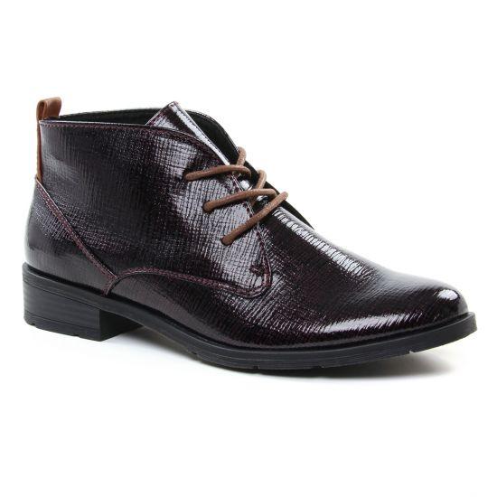 Bottines Et Boots Marco Tozzi 25120 Merlot, vue principale de la chaussure femme
