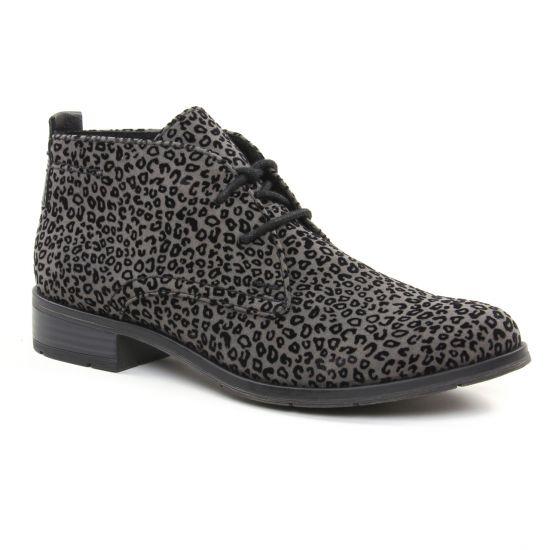 Bottines Et Boots Marco Tozzi 25101 Grey, vue principale de la chaussure femme