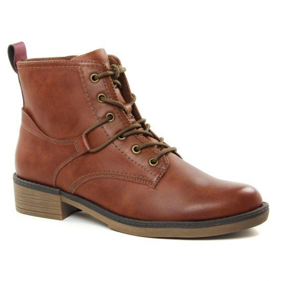 Bottines Et Boots Tamaris 25116 Cognac, vue principale de la chaussure femme