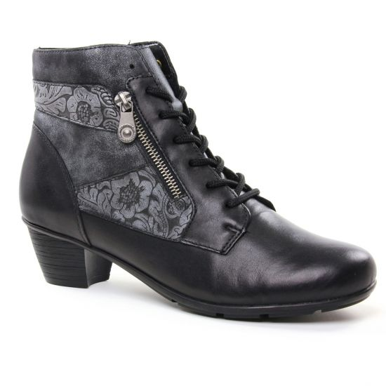 Bottines Et Boots Remonte R7570 Schwarz, vue principale de la chaussure femme